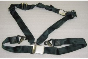 9600-3, 5010-3, Four point Seat Belt w/ Quick Disconnect / Cargo