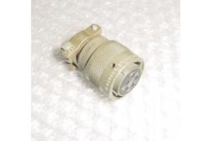NEW!! Burndy Cannon Plug Connector, BT06AC14- 5SW