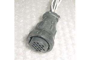 206037-1, Aircraft Avionics Harness Connector, Plug