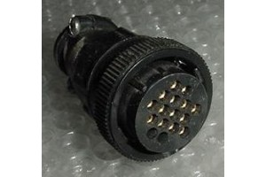 206037-1, Aircraft Avionics Harness Connector Plug