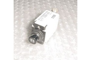 MS25244-20, 507-220-101, 20A Wood Electric Circuit Breaker