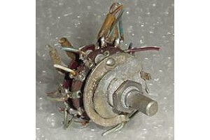 B-460064-1, 47090F2, Instrument Panel / Cockpit Rotary Switch