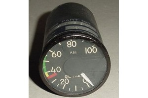 396-00S1-D1, Aircraft Oil Pressure Indicator