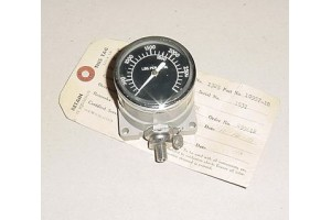 10957-1B, 3000 PSI Aircraft Pressure Gauge w Serviceable tag