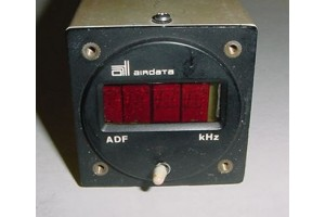 Airdata Digital Aircraft ADF Indicator, Model 450