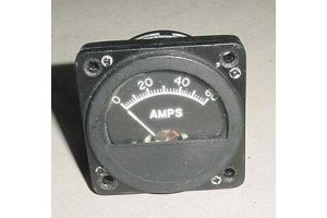 Cessna, Piper, Amps Indicator, Ammeter, 12-1100-2