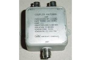 CI-1102-TNC, S-2212-1, Nos VOR Antenna Coupler / Splitter