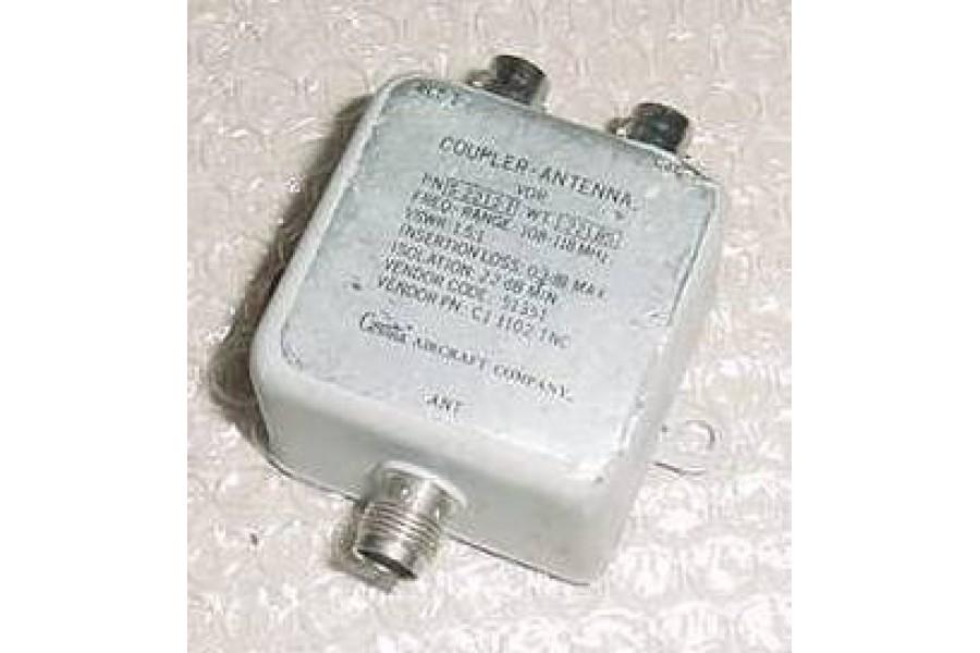 CI-1102-TNC, S-2212-1, Cessna Aircraft VOR Antenna Coupler/ Splitter