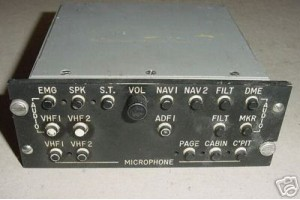 M-1035B-1, M1035B-1, Avionics Audio Control Panel