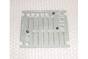 502-0017-001, 78711, Audio Control Panel Lightplate