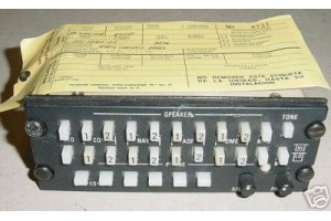 KA-119, 071-1087-01, King Avionics Audio Panel w Serviceable tag