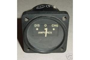 Beech 95 Ammeter, Amps Indicator, 95-324011-19, B11895-11