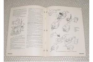 68-04-714-G, 4E srs, Propeller De-Icer Brush Block Ovhl Manual