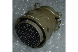 BT06AC-22-55SW, New Burndy Aircraft Cannon Plug Connector