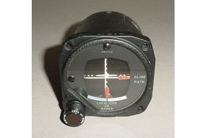 Vintage DC-3, C-47 Glideslope Course Indicator, Type 3Y2