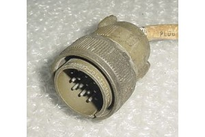 Aircraft Amphenol Cannon Plug Connector, CT06E22-14P