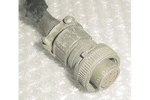 Aircraft Amphenol Cannon Plug Connector, MS3106A14S-6P