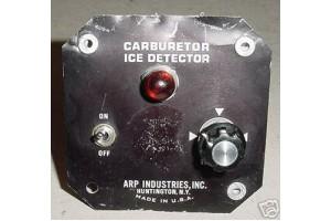 Carburetor Ice Detector Control Panel Assy, 107AP-24