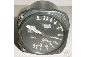 Cessna 337 Fuel Flow Indicator, 22-868