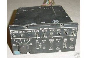 Twin Cessna Audio Control Panel