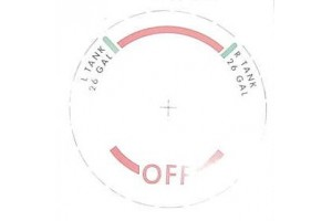 Cessna Fuel Tank Selector Decal