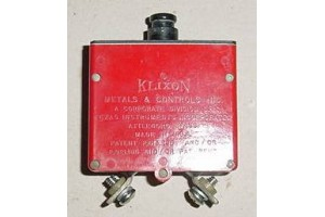 MS24571-2, 6752-12-2, 2.5A Klixon Aircraft Circuit Breaker