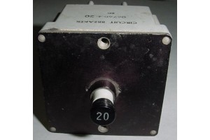 D6760-4-20, D6760420, 20A / 3 in 1 Klixon Circuit Breaker