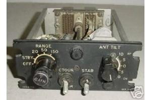 G-553, 553, Vintage Lockheed Electra Cockpit Radar Control Panel