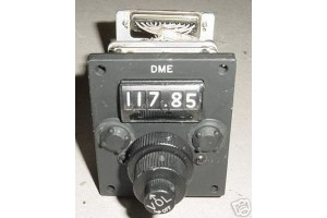 Nos Gables Aircraft DME Control Panel / Selector Head