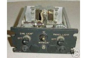 G-468, G468, Vintage Lockheed Electra 707 Cockpit Control Panel