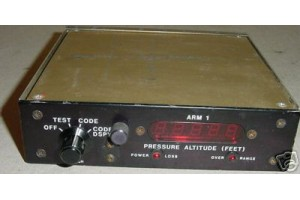 Aircraft Altitude Reporting Module Control Panel, ARM-1