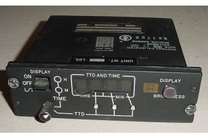 Learjet Lear 55 TTD and Time Display Controller, 29342-002