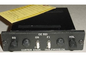 Carter Engineering CE-521 Control Panel with Serviceable Tag