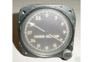 1229-011030, 011030, Lockheed T-33A Course Selector Indicator