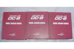 McDonnell Douglas DC-9 Wiring Diagrams Manual