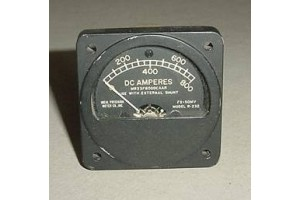 R-232, RDC 26.4009, 0-800A Ammeter / DC Amps Indicator