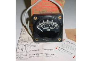 NEW!! Westberg Aircraft EGT Indicator Gauge, 270A13