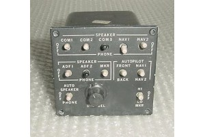 ASP310, ASP-310, Electrodelta Aircraft Audio Panel
