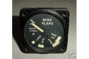 Vintage Warbird Jet Flap Position Indicator, 24100-11J-4-A1