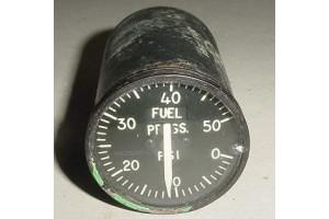 Aircraft Fuel Pressure Indicator, SR-6A, MS28010-1