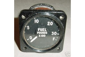AG28, AG-28, Vintage British Wardbird Jet Fuel Quanity Indicator