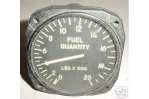 J67021A22, J67021, WWII Warbird Aircraft Fuel Quantity Indicator