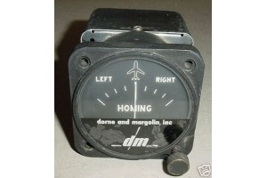 Vintage Warbird Aircraft Homing Indicator, DM-ED3-5 B