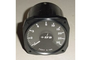 IFD GAR Ground Avoidance Radar Altitude Indicator