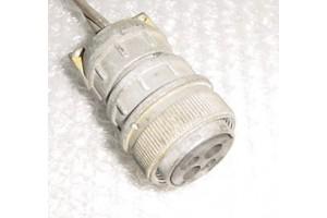 Aircraft Avionics Cannon Plug Connector, AN3106E-22-4SW