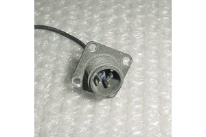 Aircraft Cannon Plug Connector Receptacle, MS3102A-12SL-844P