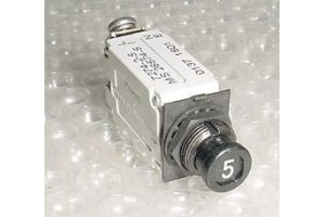 MS26574-5, 7274-2-5, NEW 5A Slim Klixon Aircraft Circuit Breaker