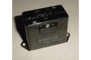 D7235-1-15, 7235-1-15, Klixon Overload Sensing Control Unit