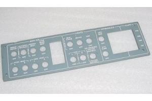 7608015-1, 11098, Learjet Anti-Ice / Lights EL Lightplate Panel