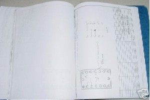 Learjet Aircraft Lot of Wiring Diagrams Manual